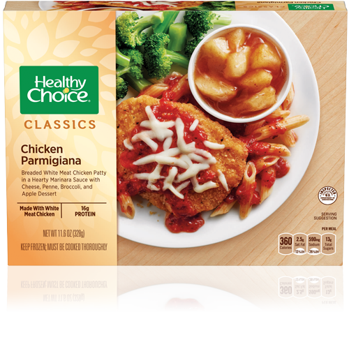 Chicken Parmigiana Healthy Choice