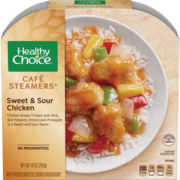 Caf 233 Steamers Low Fat Meals Healthy Choice